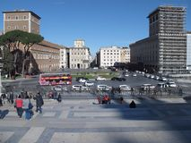 Rome Venezia fyrkant arkivbilder