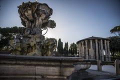 Rome, Vesta's temple Stock Images