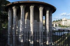 Rome, Vesta's temple Stock Image