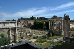 Rome, Via dei Fori Imperiali Stock Photography