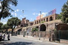 Rome, Via dei Fori Imperiali Royalty Free Stock Photography