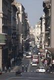 rome Via del Corso, historisch centrum Royalty-vrije Stock Foto's