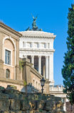 Rome. View on the city center from Piazza del Campidoglio Stock Photos