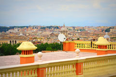 Rome view Italy royalty free stock photo
