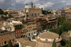 Rome view of the old city. Royalty Free Stock Photos