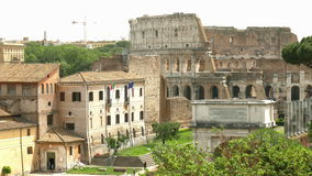 Rome stock video footage