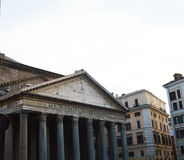 Rome view of Pantheon, Italy Stock Photography