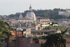 Rome view from the Pincian Hill Stock Photo