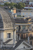 Rome view from the Pincian Hill Royalty Free Stock Photography