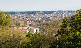 Rome view from Trastevere Royalty Free Stock Images