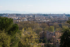 Rome view from Trastevere Stock Photo