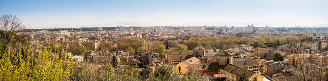 Rome view from Trastevere Stock Photography