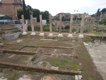 Rome visitant le pays Photo stock