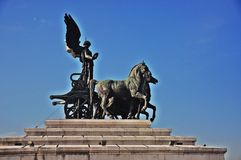 Rome-Vittorio Emanuele II Royalty-vrije Stock Afbeeldingen