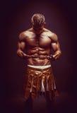 Rome warrior praying Stock Images