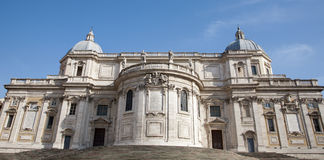 Rome - west facade of Santa Maria Maggiore Royalty Free Stock Images