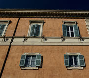 Rome windows and shades Stock Image