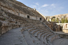 Romein amphiteater in Amman Stock Foto