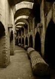 Romein amphitheatre Stock Foto's