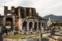 Romein amphitheatre Royalty-vrije Stock Afbeeldingen