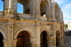 Romein amphitheatre, Arles, Frankrijk royalty-vrije stock foto