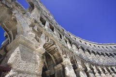 Romein anphitheatre royalty-vrije stock foto's