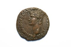 Romein vanaf Claudius Royalty-vrije Stock Afbeeldingen