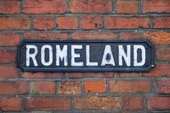 Romeland em St Albans Foto de Stock Royalty Free