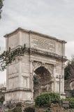 Romen Arch de Titus Imagens de Stock Royalty Free