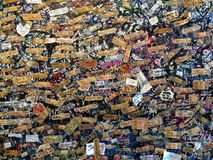 Romeo και juliet λουκέτα σπιτιών Στοκ Φωτογραφίες