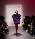 Romeo Hunte Men and Women Fashion show as part of the New York Fashion Week royalty free stock photography