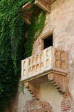 Romeo and Juliet. The balcony of Romeo and Juliet in Verona,Italy