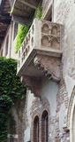 Romeo and Juliet balcony in Verona, Italy Stock Photos