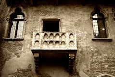 Romeo and Juliet's Balcony Stock Photography