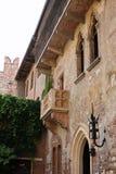 Romeo & Juliet's balcony Verona. Romeo & Juliet's balcony in Verona Italy stock image