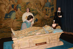 Romeo and Julieta Wax museum in Madrid Stock Photo