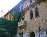 Romeo and juliets house in verona  Italy Stock Photo