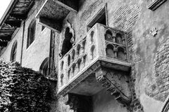 Romeo Romeo. Juliets balcony Verona royalty free stock photos