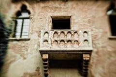 Romeo- und Juliet-Balkon Lizenzfreie Stockfotos