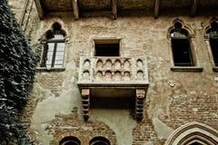 Romeo- und Juliet-Balkon Stockbild
