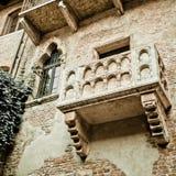 Romeo- und Juliet-Balkon Stockfotos