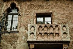 Romeo- und Juliet-Balkon Lizenzfreies Stockbild