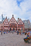 Romer City Hall in Frankfurt in Germany Stock Photography
