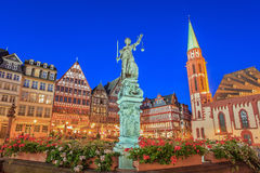 Romer - Francfort - l'Allemagne Photos stock