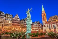 Romer - Frankfurt - Duitsland Stock Foto's