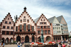 Romer fyrkant Frankfurt Royaltyfri Foto