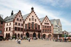 Romer fyrkant Frankfurt Royaltyfri Bild