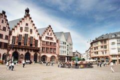 Romer kwadrat Frankfurt Zdjęcia Stock