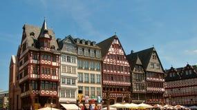 Romer Platz. Frankfurt Stock Images