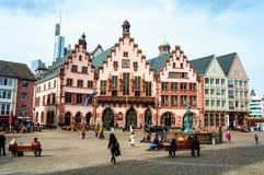 Romerberg kwadrat w Monachium Fotografia Royalty Free
